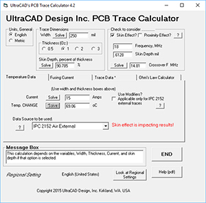 Ultracad design inc homepage ultracads popular ucadpcb trace calculator has been updated to version 42 to incorporate the new findings by brooks and dr adam keyboard keysfo Choice Image